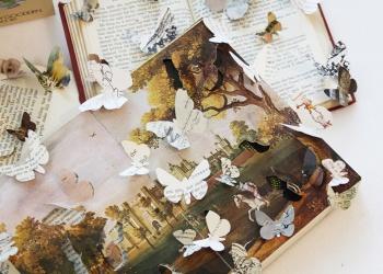 Caroline Parrott 'Kaleidoscope II' Poole Literary Festival, October 2010